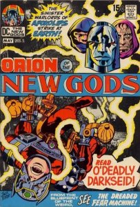 New Gods #2 (ungraded) stock photo