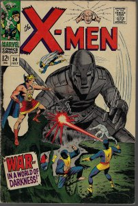 X-men #34 (Marvel, 1967) F-