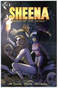 SHEENA QUEEN of the JUNGLE #3, NM, Femme fatale, Moonstone, 2014, more in store
