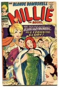 Millie The Model #145 comic book 1967-Marvel-Chili on cover-fashion-paper dolls