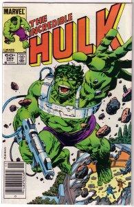 Incredible Hulk   vol. 1   #289 VG Mantlo/Sal Buscema, Milgrom cover, AIM