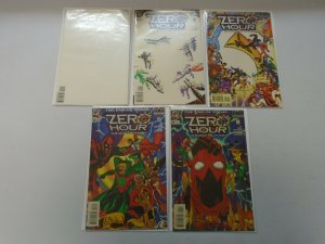 Zero Hour Crisis in Time set #0-4 8.0 VF (1994)