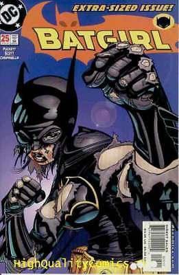 BATGIRL #25, NM+, Scott Peterson, Damion, Lady Shiva, 2000, more BG in our store