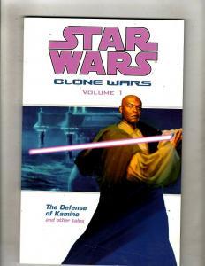 Clone Wars Vol. # 1 Star Wars Dark Horse Comics TPB Graphic Novel Kamino J337