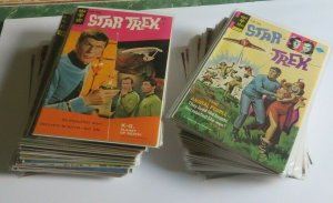 Star Trek #1-61 Complete Set Gold Key Comics 1967-1979 Mid to Upper Grade FN-NM