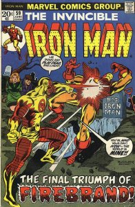Iron Man #59 (ungraded) stock photo