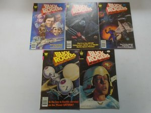 Buck Rogers in the 25th Century lot 10 different issues avg 6.0 FN (Whitman)