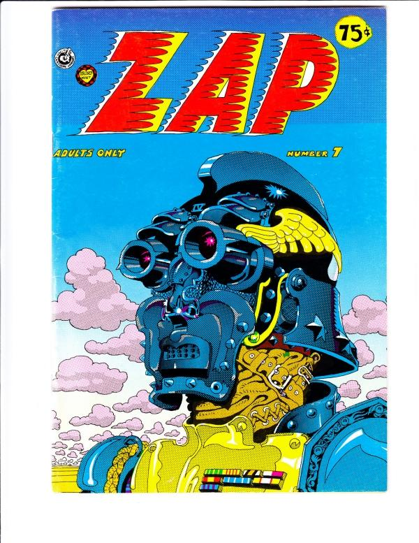 Zap #7 (Jan-74) VG/FN- Mid-Grade Fat Freddy and his cat, Checkred Demon, Mr. ...