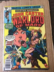 John Carter Warlord of Mars #5 (1977)