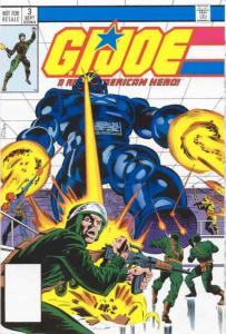 G.I. Joe, a Real American Hero #3 (3rd) VF; Marvel | save on shipping - details