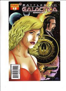 Battle Star Galactica Origins Set #1to7 (Jan-07) NM+ Super-High-Grade Adama e...