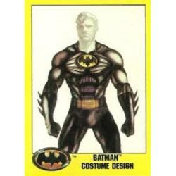 1989 Batman The Movie Series 2 Topps BATMAN COSTUME DESIGN #197