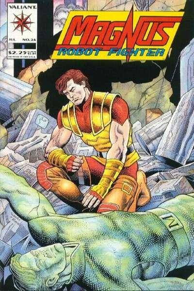 Magnus Robot Fighter (1991 series) #26, NM (Stock photo)
