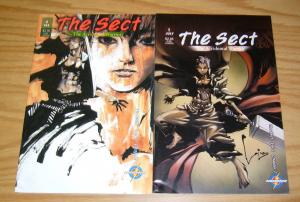 the Sect: Accidental Warrior #1-2 VF/NM complete series - mook lim - comics set