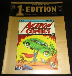 Famous 1st Edition C-26 | Action Comics #1 | Treasury Sized (1974) VG
