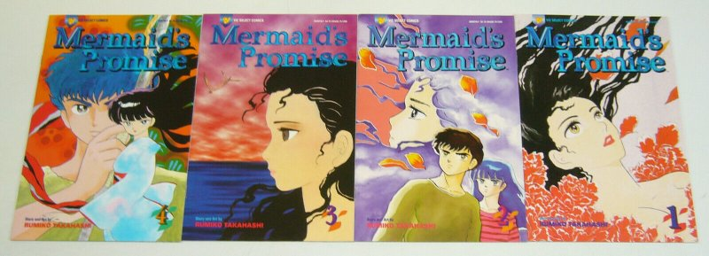 Mermaid's Promise #1-4 VF/NM complete series - viz select comics manga takahashi
