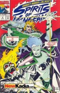 Ghost Rider/Blaze: Spirits of Vengeance #4, NM (Stock photo)