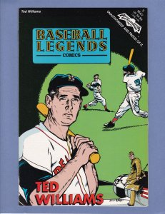 Baseball Legends Comics #3 NM- Ted Williams Revolutionary Comics