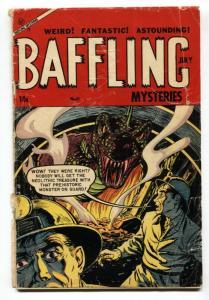 Baffling Mysteries #21-Monster cover-Pre-code horror-comic book G