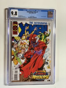 Astonishing X-men 1 Cgc 9.8 Marvel Age Of Apocalypse