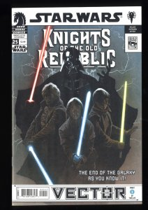 Star Wars: Knights of the Old Republic #25 NM+ 9.6 1st Celeste Morne!