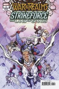 War Of The Realms Strikeforce Land Of Giants #1 Hamner Variant (2019) NM