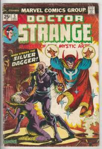 Doctor Strange #5 (Dec-74) VG+ Affordable-Grade Dr.Strange