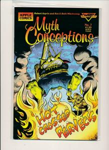 Apple Comics SET OF 8-MYTH CONCEPTIONS #1-#8  F/VF(PF853)