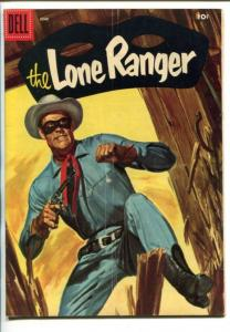THE LONE RANGER #96-1956-DELL-TONTO-SCOUT-SILVER-SILVER BULLET-vg