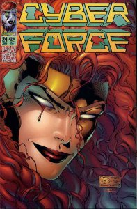 Cyberforce (Vol. 2) #24 VF; Image | save on shipping - details inside