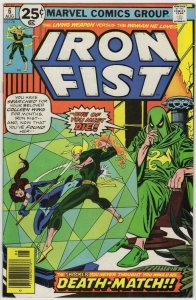 IRON FIST #6, VF/NM, Death, Claremont, John Byrne, 1975 1976, more in store