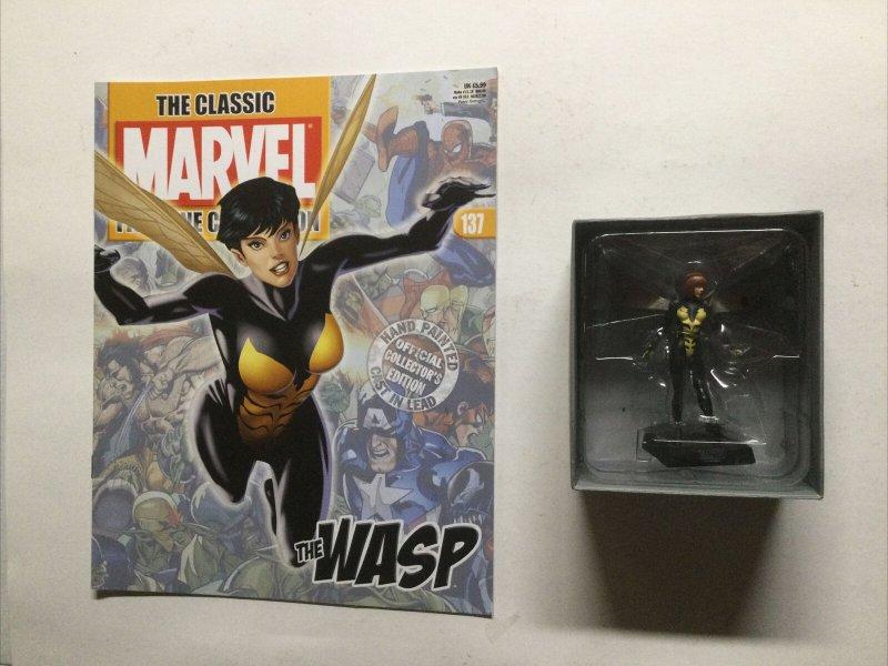 Wasp Classic Marvel  FigureCollection 137 Lead Magazine Eaglemoss