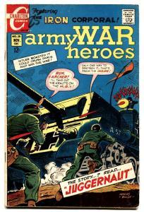 Army War Heroes #28 1968- Violent vietnam war stories-WWII