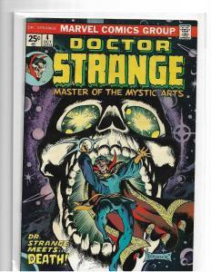 DOCTOR STRANGE #4 - VF -  DEATH APP - BRONZE AGE-  BRUNNER / GIORDANO