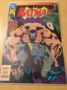 Batman #497  Bane breaks the bat