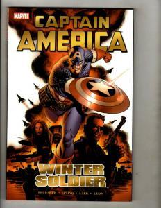 Captain America Winter Soldier Marvel Comics TPB Graphic Novel Comic Book V1 GK1