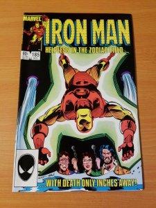 The Invincible Iron Man #185 ~ NEAR MINT NM ~ (1984, Marvel Comics)
