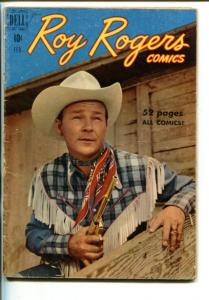 ROY ROGERS #26-1950-WESTERN-PHOTO COVERS-TRIGGER-BULLET-vg