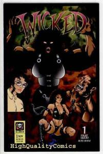 WICKED #1, NM, Millennium, 1994, Sean Shaw, Femme Fatale, more indies in store