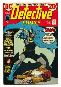 DETECTIVE COMICS #431 comic book 1972 BATMAN-Elongated Man FN/VF