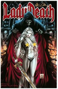 Lady Death Revelations #1 Naughty Cryptic Edition Signed by Pulido #24/99 VF/NM