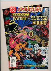 Lot of 2-Doom Patrol & Suicide Squad Special#1 &DOOM Patrol Index VF/NM(PF838)