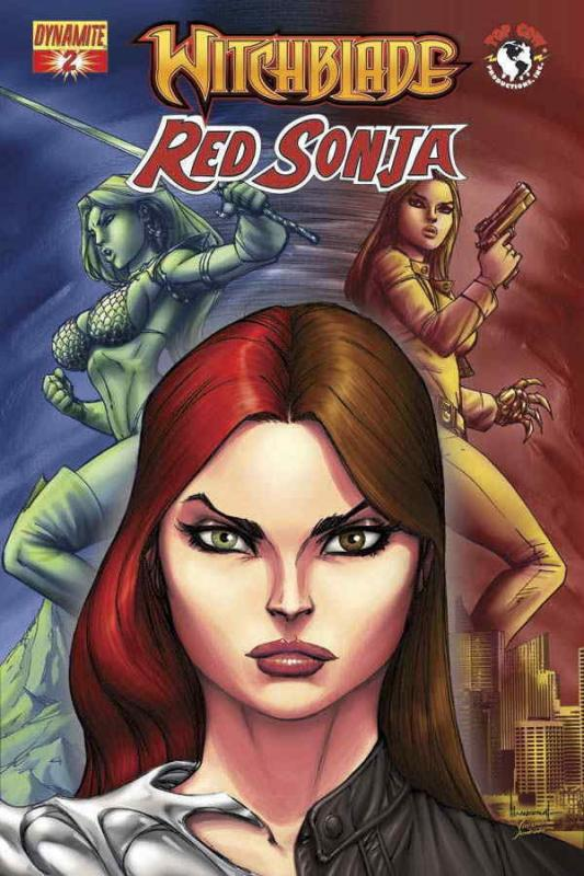 Witchblade/Red Sonja #2 VF/NM; Dynamite | save on shipping - details inside