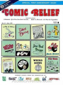 Comic Relief (magazine) #12 FN; Page One | save on shipping - details inside
