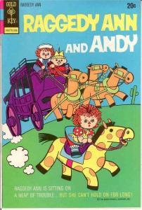 RAGGEDY ANN & ANDY (1971-73 GK) 5 VF-NM  June 1973 COMICS BOOK