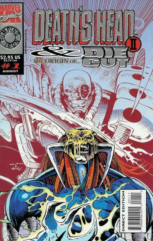 Death's Head II & the Origin of Die-Cut #1 VF/NM; Marvel UK | save on shipping -