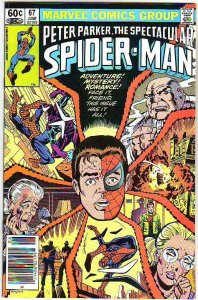 Spider-Man, Peter Parker Spectacular #67 (Jun-83) NM/NM- High-Grade Spider-Man