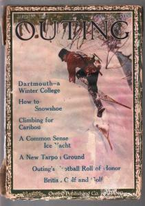 Outing 1/1914-outdoor living & adventure-golf-ski jumping-vintage ads-pulp-VF
