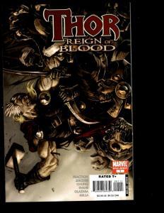 Lot of 8 Thor Marvel Comic Books 1 1 1 1 Loki 1 4 Thor 1 2 Captain America SM11