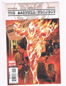 The Marvels Project # 2 NM Marvel Comic Books Human Torch Namor WOW!!!!!!!!! SW6
